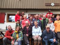 Samstag 07.09.19 Silberwand Stollen, Kaffee Kuchen in der Hütte und Fest Sonntag klettern für alle im Gohrisch mit Sonne !