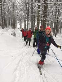 I.Skitour des Jahres nach Sebnitz