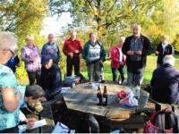 Von Hänichen über die Goldene Höhe nach Coschütz zur Feldschlösschen-Brauerei