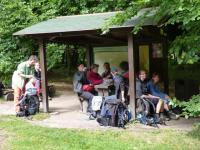 Klettertour nach Dittersbach mit Zelten